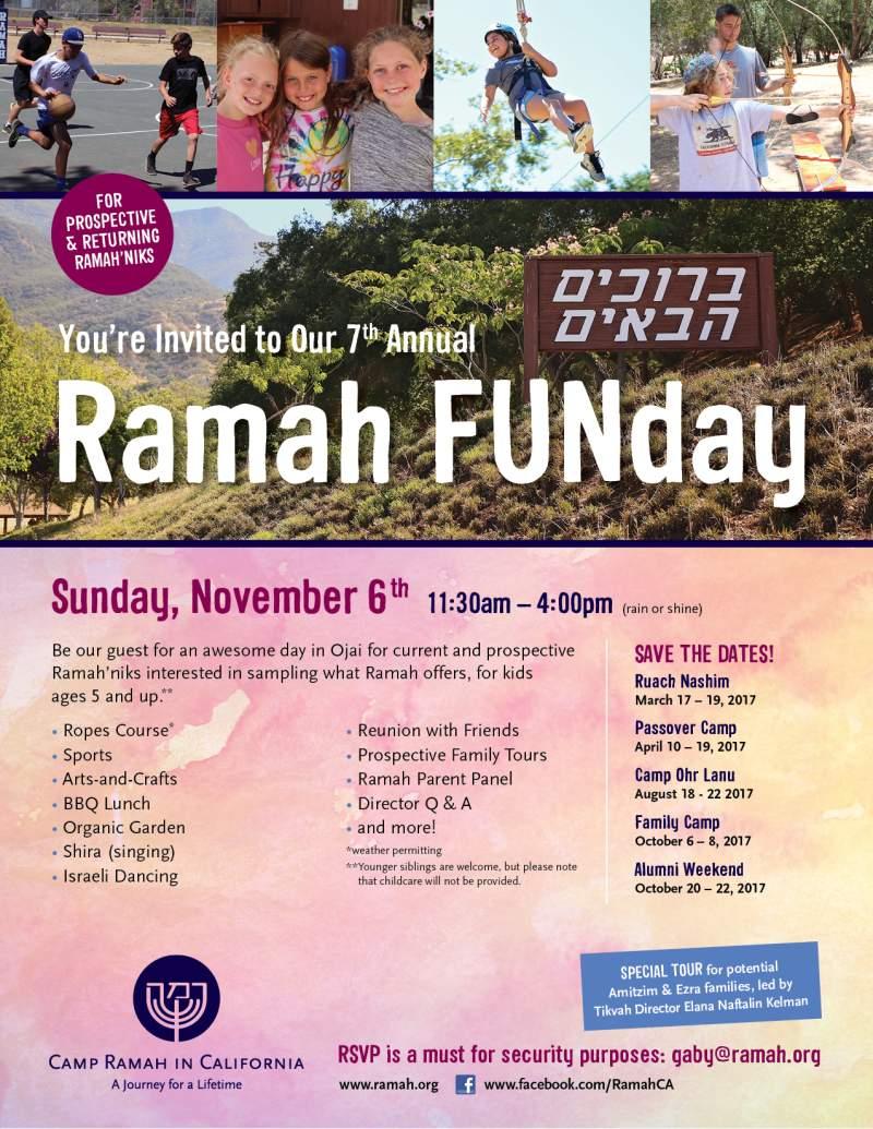 Ramah FUNday